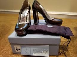 Prada Metallic Calzuture Donna Blocked Heel Color Pumps Size US 7 Regular  (M, B) - Tradesy