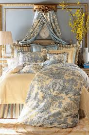 toile bedding