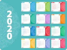 Product Calendar Design Calendar Design 2020 By Persfire On Dribbble