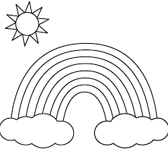Small Picture 100 ideas Coloring Pages To Print Rainbow on wwwcleanrrcom