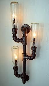 diy pipe lighting. Steampunk DIY Light Fixture Industrial Pipe Lamps Diy Lighting