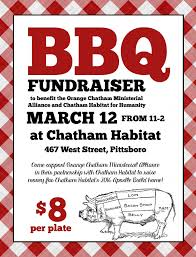 cookout fundraiser flyers church bbq flyer template