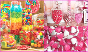 bathroom diy candy sweet jar decorations homeware room decor thifty fashionquirks table for weddings