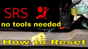 how to reset srs airbag light turn off the srs