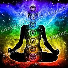 Details About Chakra Nebula Poster Yoga Namaste Meditation Wall Om Hindu Zen Astral Chart Ohm