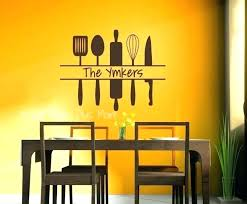 top photo of vinyl wall decals for kitchen personalized sentence wine stickers personal
