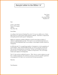 how do you format a letter format for writing a letter to the editor ideas of letter to