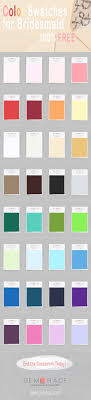 Impression Bridal Color Chart Get Free Color Swatches For Wedding Bridesmaid Dresses