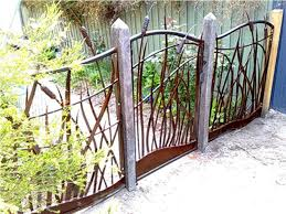 metal fence ideas. Contemporary Ideas Decorative Fencing Ideas Albums Stylish Metal Garden Panels On Fence