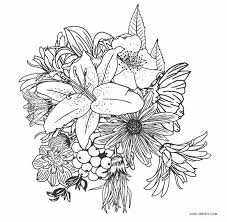 Birds, butterflies, dinosaur, dog, fish, flower, frogs, farm and zoo animals are just a few of the many coloring sheets and pictures in this section. Free Printable Flower Coloring Pages For Kids