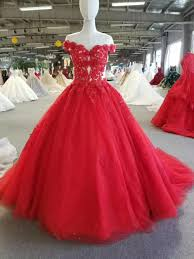 New Ball Gown Design New Fashion Red Ball Gown Prom Dress 2018 Saudi Arbaic Modern Design Sheer Lace Top Corset Elegant Prom Gowns