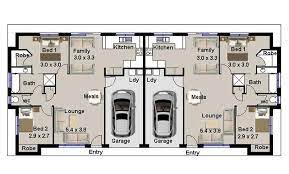 duplex floor plans duplex house plans