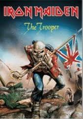 Iron Maiden The Trooper 3d Plakát 3d Obraz