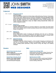 Modern Resumes Samples 40 Great Html Cv Resume Templates Template