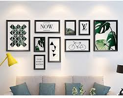 picture frames on wall simple. DENGJU Classic Photo Frame Solid Wood Collage Combination Living Room Bedroom Frames Wall Creative Combinations Picture On Simple E