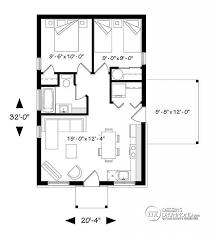 Plan De Maison Unifamiliale Maxence 2 No 1910 Bh1 2 Ch Mini