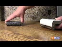 laminate countertop edge styles