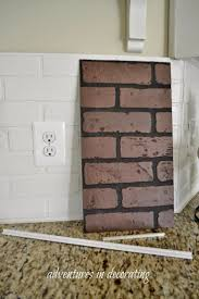 Painting Fake Brick Paneling 537 Best Walls And Paint Technique Images On Pinterest Ideas