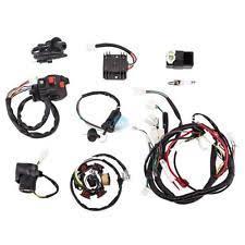 atv harness ebay Atv Wiring Harness complete electrics wiring harness loom magneto stator gy6 125cc 150cc atv quad wiring harness for atv