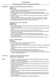 Psychology Sample Resumes Psychology Resume Sample Resume Sample