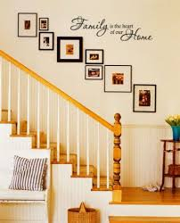 pleasant decorate stairway wall best staircase wall decor ideas on regarding fabulous staircase wall decorations highest
