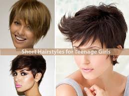 Teen Girls Hair Style short hairstyles for teenage girls hairstyle for women 7820 by wearticles.com
