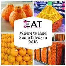 Mandarin Tangerines Where To Buy Sumo Citrus Mandarins 2018 Eat Like No One