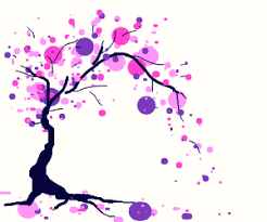 When i needed to draw some trees for a project i was doing, i assumed that there would be a classic, easy algorithm for drawing neat trees. Tree With Pink Dots For Leaves Drawception