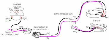 fuel gauge wiring wiring diagram rows