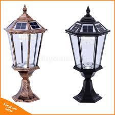 Pillar Solar Lights For Outdoors Hot Item Outdoor Lighting Solar Pillar Light Solar Garden Light