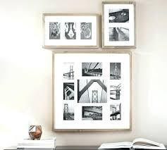 multiple picture frames. Multi Opening Picture Frame Wood Gallery Multiple Frames Pottery Barn Large Wall T