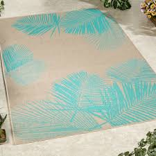terrace palm rectangle rug
