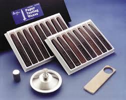 30-17 Dennison <b>Standard</b> Test <b>Wax</b> Kit | Testing Machines, Inc.