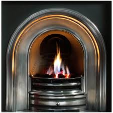 gallery crown cast iron fireplace insert