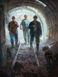 Галерея Арт Владивосток › Дальневосточная Государственная  Симонов С С Дипломная работа Шахта