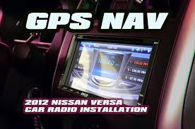 nissan versa gps navigation double din car radio install nissan versa gps navigation double din car radio install