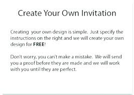 Make Your Own Invitations Online Free Design Own Party Invitations Free Jaimesilva Co