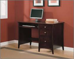 small office desk with drawers. Free Ship Furnishings Dark Brown Wood Home Office Desk Small With File Drawer Drawers