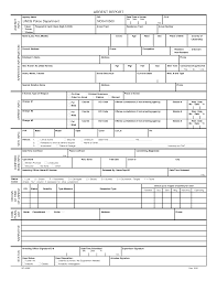 Best Photos Of Free Blank Police Report Template Police