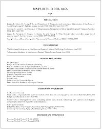 Doctors Resume Format Barca Fontanacountryinn Com