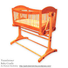 baby cradle with title patrick a mckinley 039 s woodworking