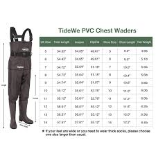 Airflo Waders Size Chart Methodical Fishing Wader Size Chart Fishing Wader Size Chart