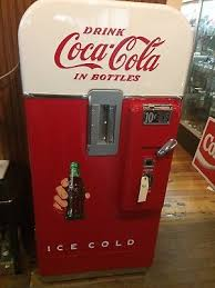 Rc Cola Vending Machine Enchanting 48s Antique V 48 Coca Cola Soda Beverage Vending Machine Coke