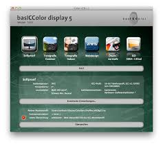Basiccolor Display 5 Monitor Calibration And Icc Profiler