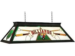 ram s billiards series pool table lights stained glass light lamp patterns style