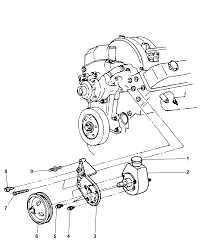 R2039145 genuine mopar pump power steering dodge ram water pump diagram
