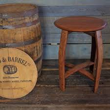 Wine barrell furniture Upholstered Wine Barrel Table Made With Reclaimed Wine Barrel The Press Democrat Wine Barrel Table Table Made From Reclaimed Wine Barrel Offcyclers