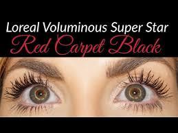 l oreal voluminous superstar red carpet