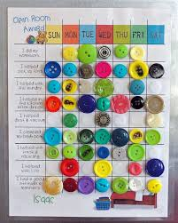 Magnetic Chore Chart Buttons Use Buttons On A Chart With A Magnet Or To Attach Them