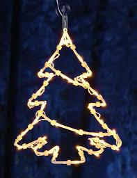 Led Weihnachts Fenster Silhouette Xxl Motiv Weihnachtsbaum